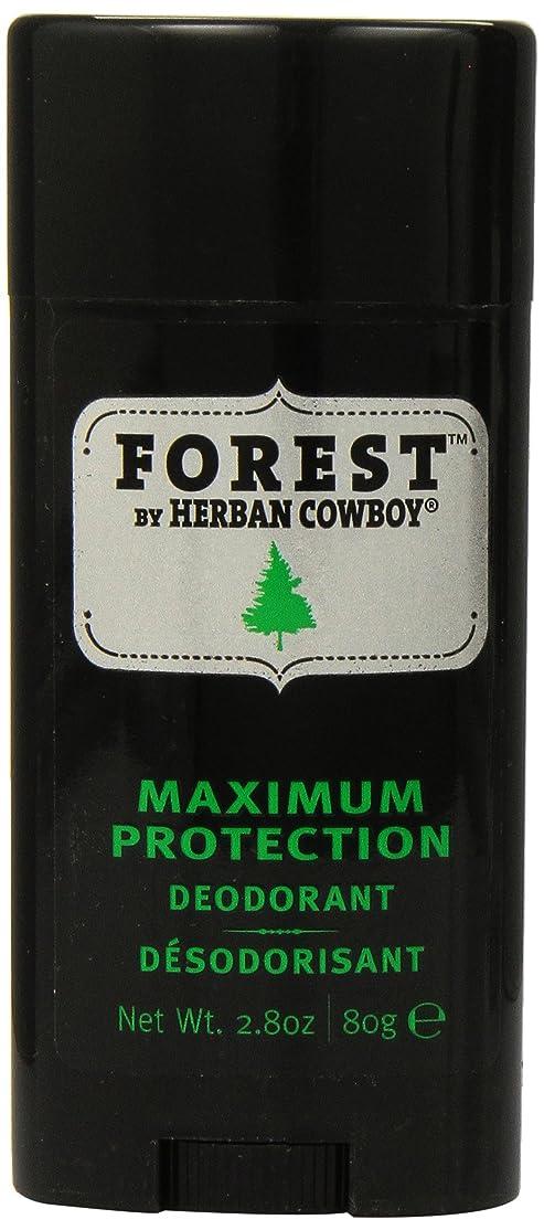 Herban Cowboy Deodorant Forest, 85 ml [並行輸入品]