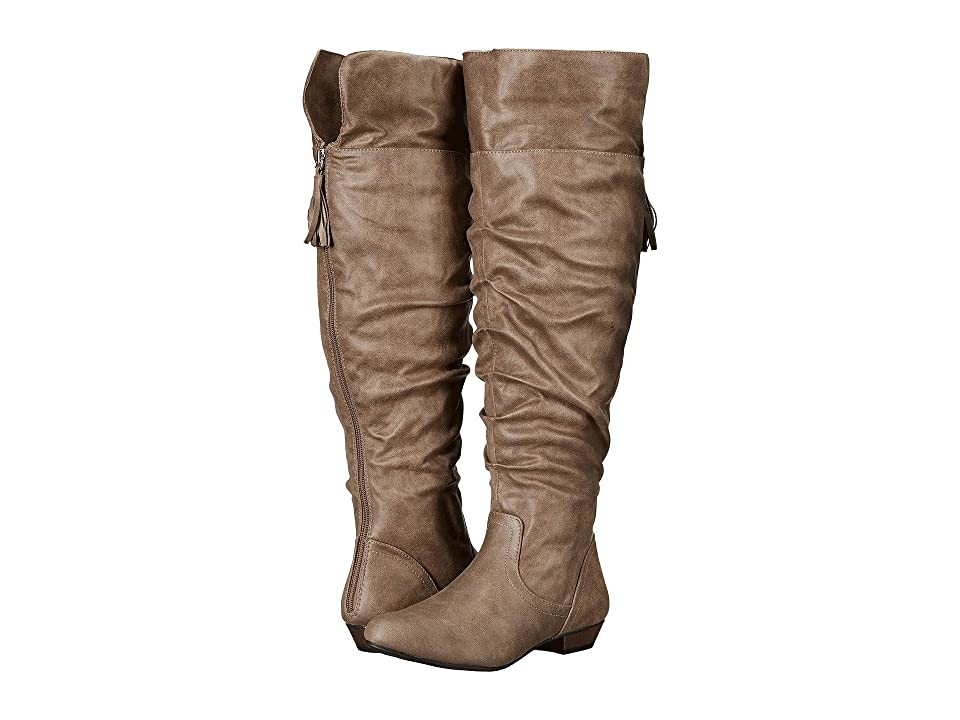 Fergalicious Rookie Wide Calf (Taupe) Women