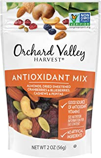 ORCHARD VALLEY HARVEST Antioxidant Mix, 2 oz (Pack of 14), Non-GMO, No Artificial Ingredients