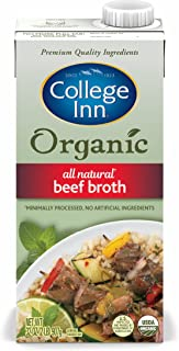 College Inn Organic All Natural Beef Broth in Aseptic Carton, 32-Ounce