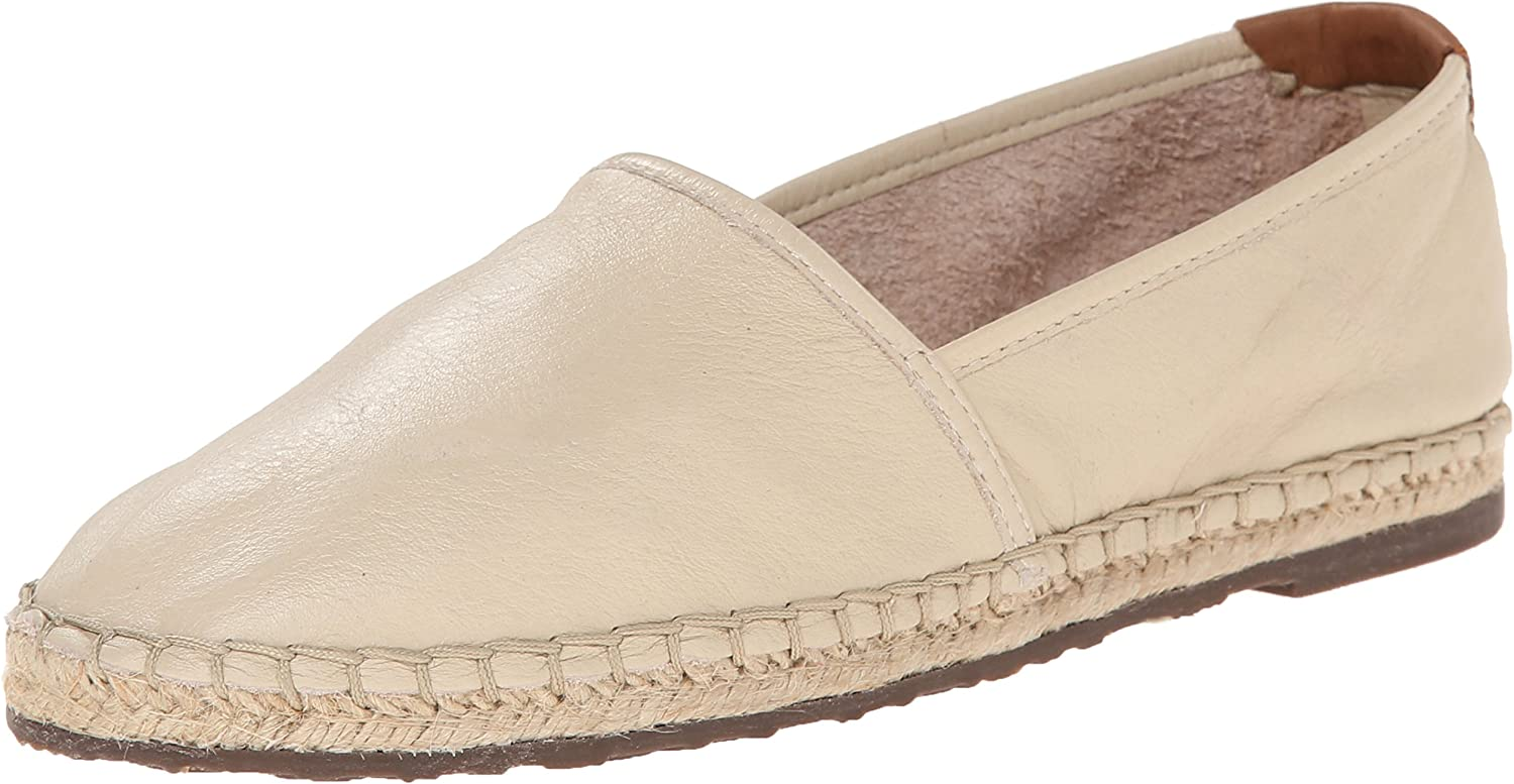 Sebago Women's Darien Slip-On Espadrille Flat Red