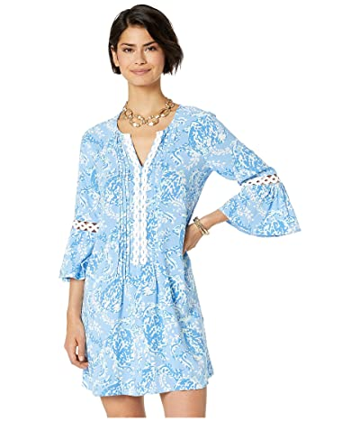 Lilly Pulitzer Hollie Tunic Dress (Blue Peri Turtley Awesome) Women