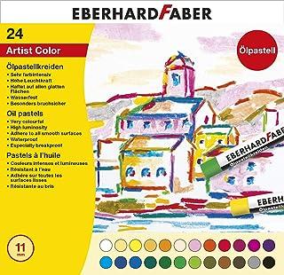 Eberhard Faber 522024 – pastelowa kreda olejowa, kartonowe etui 24 szt.