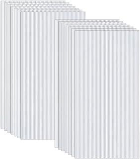 comprar comparacion Froadp 14 Piezas Láminas de Policarbonato Celular Plástico Resistente UV-Rayos Accesorios de Doble Ranura para Plantas Cul...
