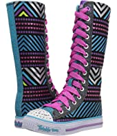 SKECHERS KIDS - Twinkle Toes - Shuffles 10700L Lights (Little Kid/Big Kid)