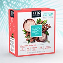 South Beach Diet® Keto-Friendly Shake Mix, Chocolate (20 ct) - Delicious Shakes Made to Support Healthy Weight Loss & Your Keto Lifestyle