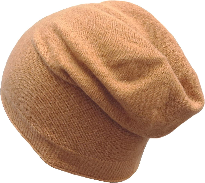 State Fusio Unisex Plain Knit Beanie Cashmere Merino Wool Extra Warm and Soft Winter Hat
