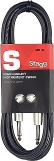 Stagg SGC6DL Câble guitare Jack 6.3mm - 6m