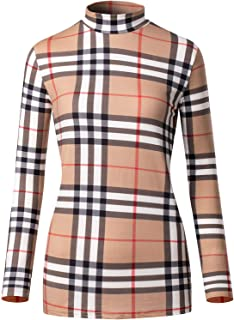 Le Vonfort Thermal Underwear for Women Turtleneck Pullover Active Workout Shirt Lightweight Ruched Sleeves Half Neck Top