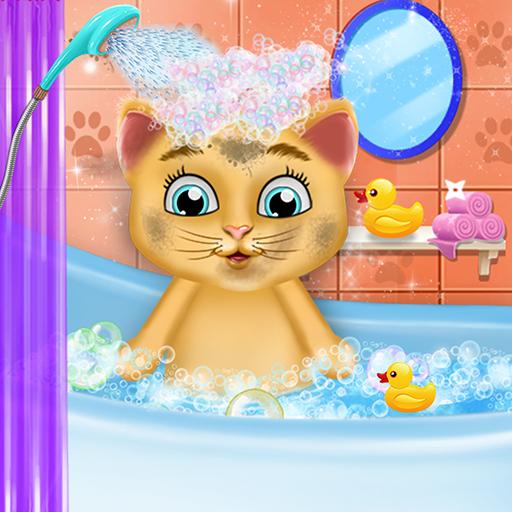 Mignonne Chaton Garderie & Salon de beauté - Profitez de votre journée de toilettage et de jouer avec vos animaux de compagnie!