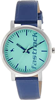 Fastrack Fundamentals Analog Blue Dial Women's Watch - 68010SL03