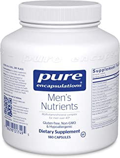 Pure Encapsulations Men's Nutrients | Multivitamin Mineral Supplement to Support Prostate Health, Energy, Endurance, and S...