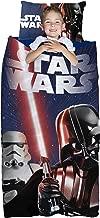 Star Wars 2 Piece Classic Darth Vader, Light Saber, Storm Trooper Slumber Bag with Bonus Plush Pillow
