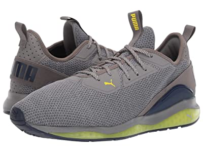 PUMA Cell Descend (Charcoal Gray/Peacoat/Blazing Yellow) Shoes
