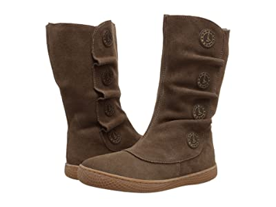 Livie & Luca Tiempo (Toddler/Little Kid) (Taupe Suede) Girls Shoes