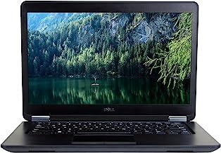 DELL Latitude E7450 14in Laptop, Core i7-5600U 2.6GHz, 16GB Ram, 512GB SSD, Windows 10 Pro 64bit (Renewed)