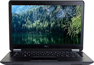 DELL Latitude E7450 14in Laptop, Intel Core i7-5600U 2.6GHz, 8GB Ram, 512GB Solid State Drive, Windows 10 Pro 64bit (Renewed)