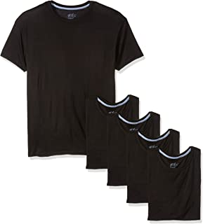 Hanes Men's MXT1SVASTL 5 T-Shirts, Multicolour (Assorted)