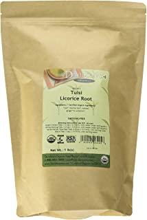 Davidson's Tea Bulk Bag, Organic Tulsi Licorice Root, 16 Ounce