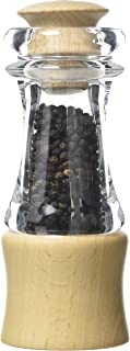 T&G CrushGrind Classic Pepper Mill, FSC Beech and Acrylic, 150 mm