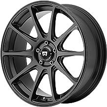 "Motegi Racing MR127 Satin Black Wheel (17x8""/5x114.3mm, +38mm offset)"