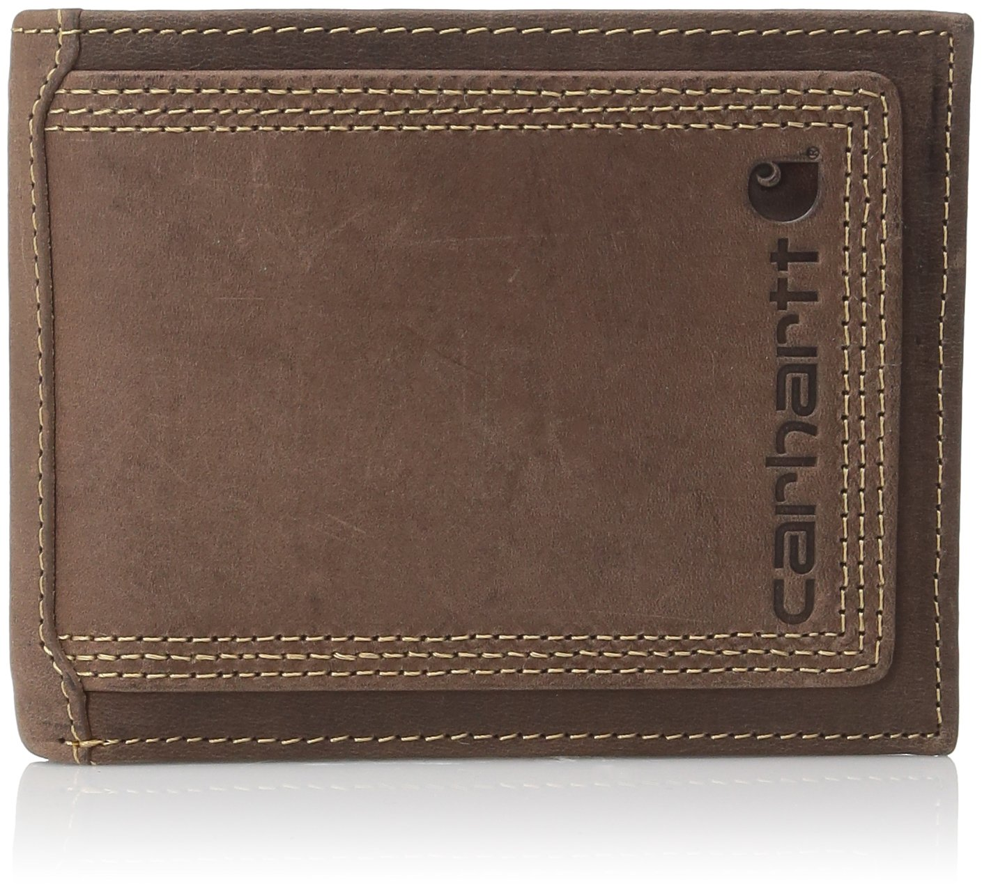 Carhartt Billfold Wallet Brown Contrast