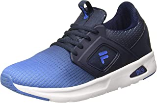 Fila Men's Nelson Pea/Blu Lot/CHN Rd Sneakers-8 UK (42 EU) (9 US) (11006129)