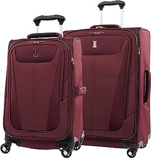 Travelpro Maxlite 5 Softside Expandable Spinner Wheel Luggage, Burgundy, 2-Piece Set (21/25)