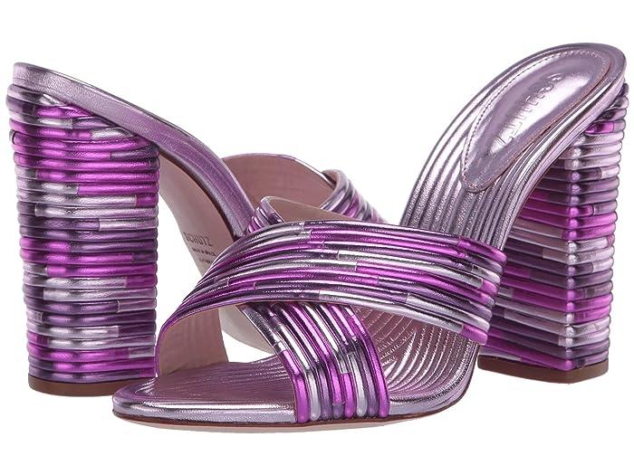 70s Shoes, Platforms, Boots, Heels Schutz Emma Dale Purple Womens Shoes $129.99 AT vintagedancer.com