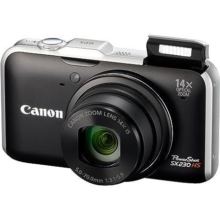 Canon デジタルカメラ PowerShot SX230 HS ブラック PSSX230HS(BK)