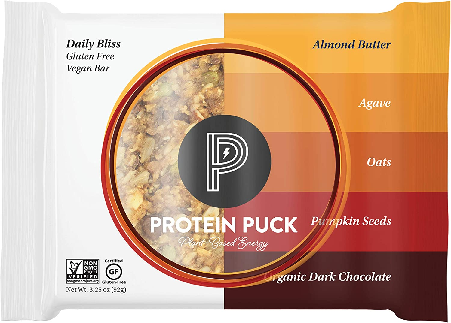 We OFFer at cheap prices Protein Genuine Puck Plant Based Bars Snacks Pr with 15 grams Vegan of