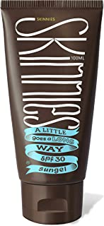 Skinnies SunGel Suncream, 100ml, SPF30, Broad Spectrum,
