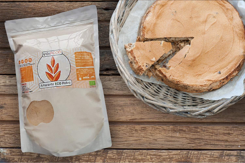 Harina de Quinoa Ecológica - 2kg - Quinoa Orgánica molida sin gluten y alta en proteínas - Deliciosa y nutritiva