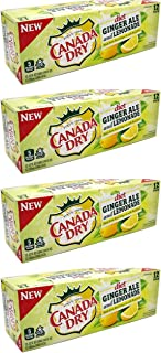 Canada dry Diet ginger ale and lemonade, 12 fl oz, 48 cans