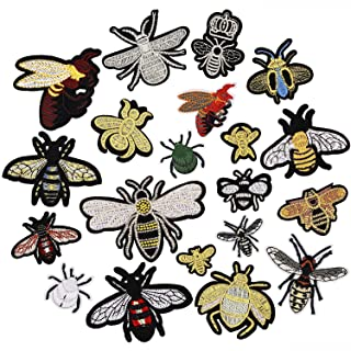 Sew on Insect Cont.Patches Embroidered Patches Sewing Supplies Handcraft Trim
