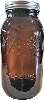 Ball Mason Jar-64 oz. Amber-One Jar-NEW COLOR !!!