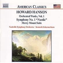 Hanson: Symphony No. 1, 'Nordic' / Merry Mount Suite