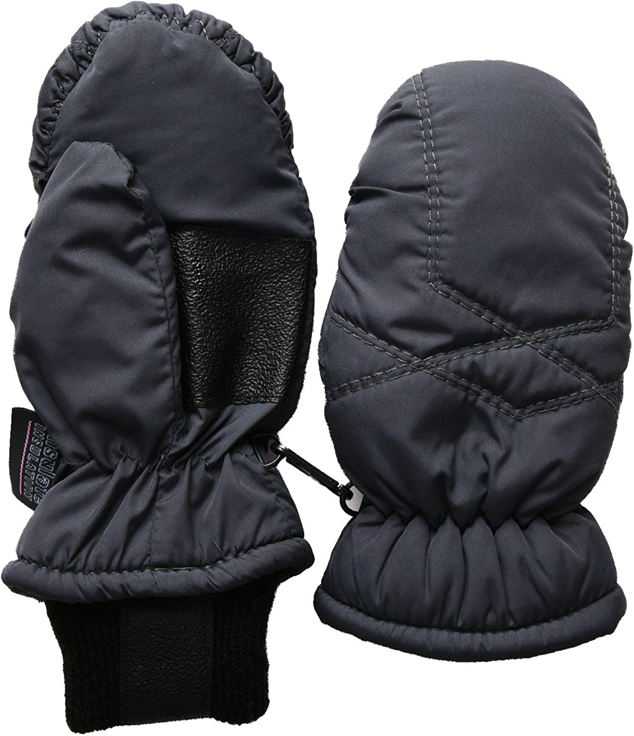 SANREMO Unisex Kids Toddler Thinsulate and Waterproof Cold Weather Ski Mittens