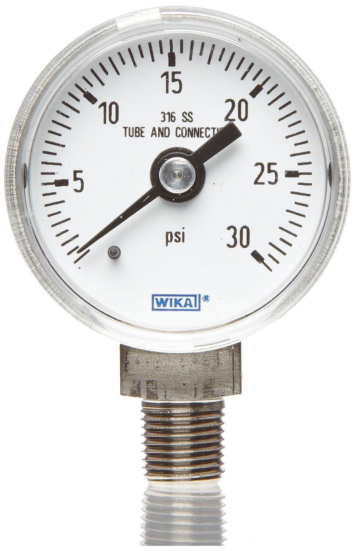 WIKA 9768378 Industrial Pressure Max 79% OFF Dry Liquid-Fillable Gauge Sta Cheap SALE Start