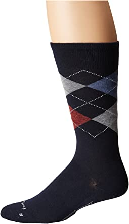 Argyle Ultra Light Crew Sock