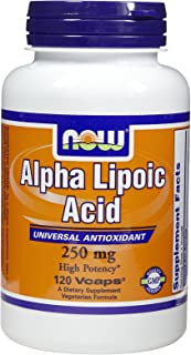 Now Foods Alpha Lipoic Acid 250 mg (120 caps) ( Multi-Pack)