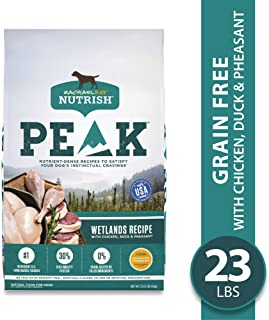 Rachael Ray Nutrish PEAK Natural Dry Dog Food, Grain Free