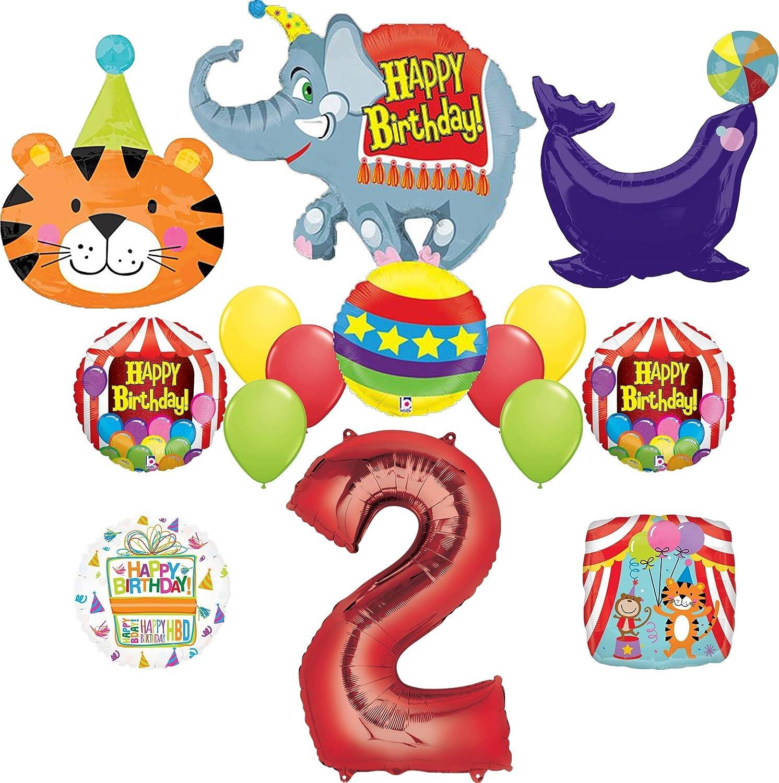 2nd Birthday Circus Balloon Bundles