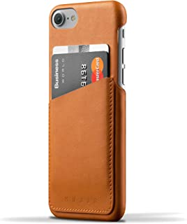 Mujjo Leather Wallet Case for iPhone 7 & 8,Tan