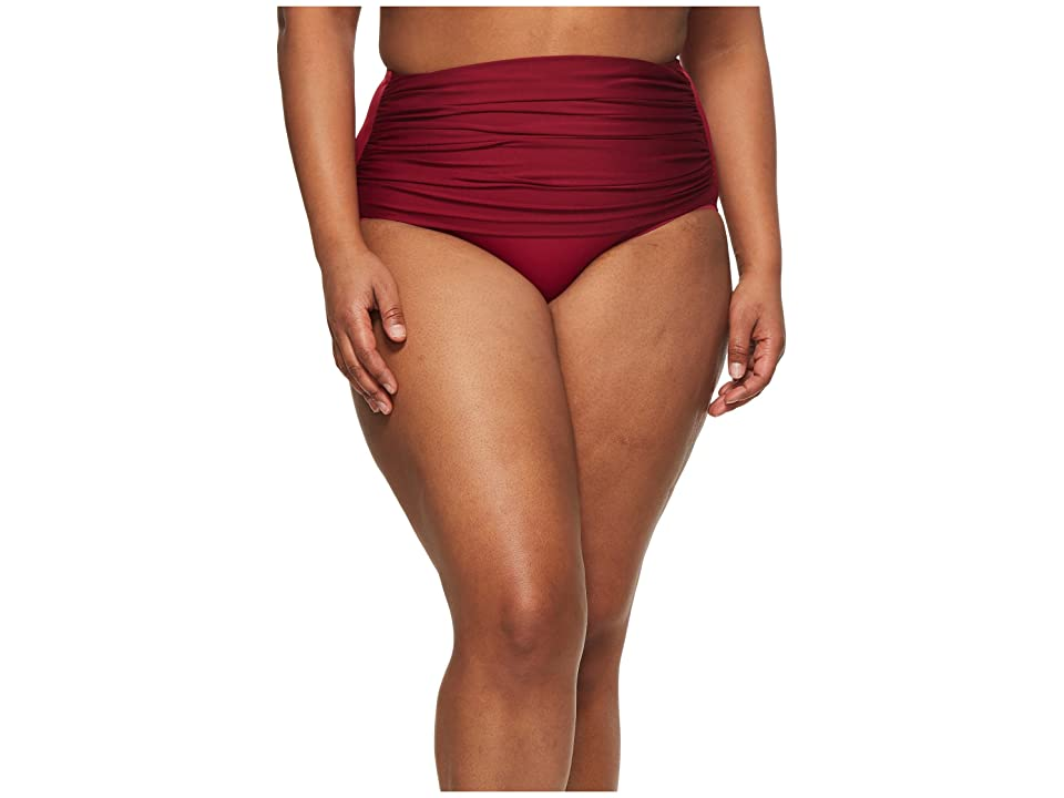 Miraclesuit Cat Walk Norma Jean Retro Bottom (Pompei Red) Women