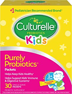 Culturelle Kids Packets Daily Probiotic Supplement | Helps Support a Healthy Immune & Digestive System* | #1 Pediatrician ...