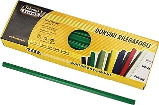 Fellowes Dorsini Rilegafogli, 3 mm de diámetro, 50 Piezas, Verde