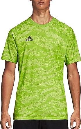 Amazon.com : adidas Men's AdiPro 19 Goalkeeper Shortsleeve Jersey ...