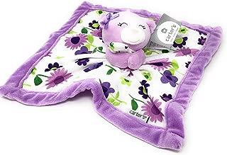 Kids Preferred Carters Lilac Bear Flowers Security Blanket