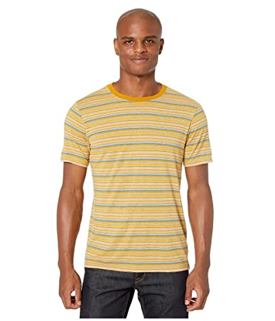 Prana Dustin Short Sleeve Crew (Stone) Men